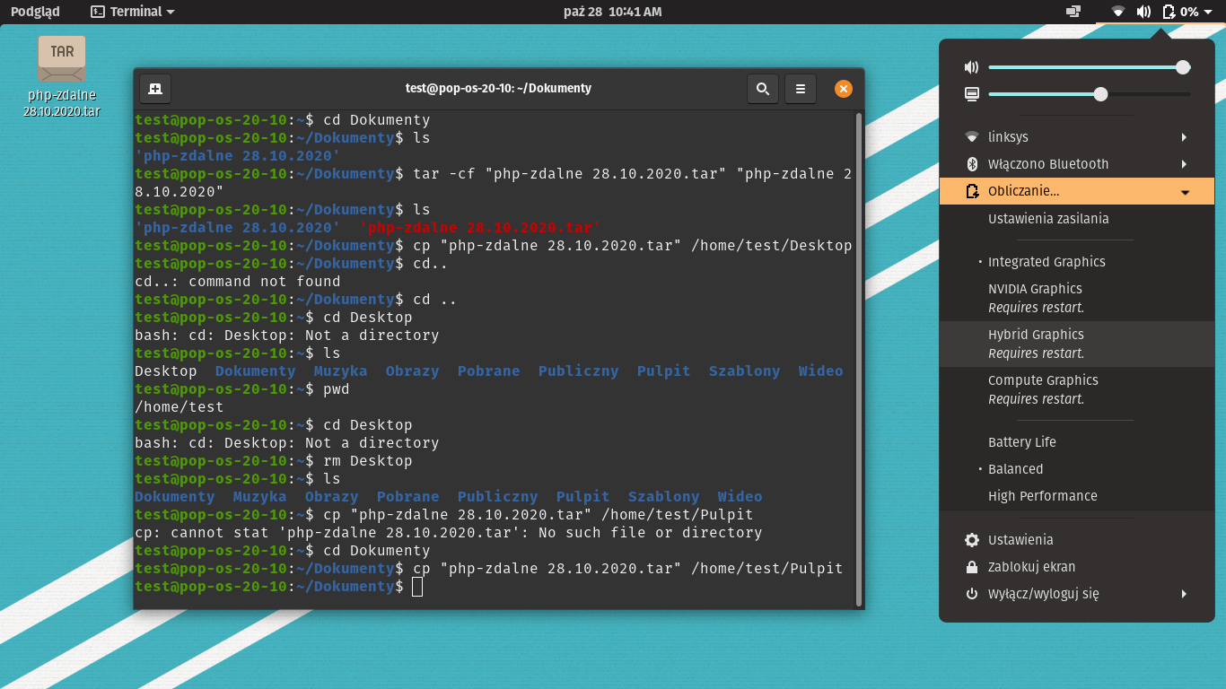 Pop!_OS 20.10 External monitor Support In Hybrid Graphics Mode