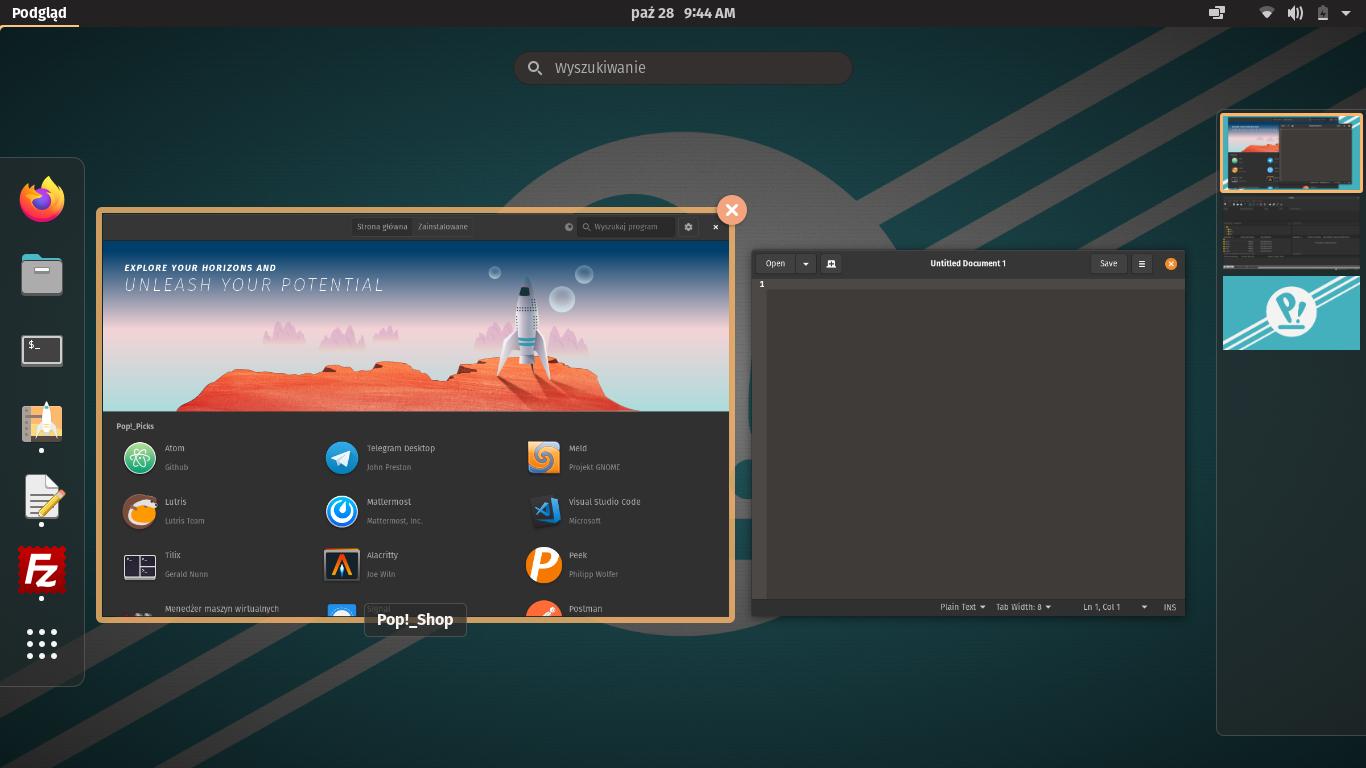Pop!_OS 20.10 GNOME 3.38.1 #1
