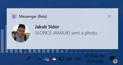 Windows 10 20H2 Notification Icon 1