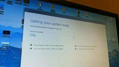 Windows 10 20H2 Updating Process Via Tool 1