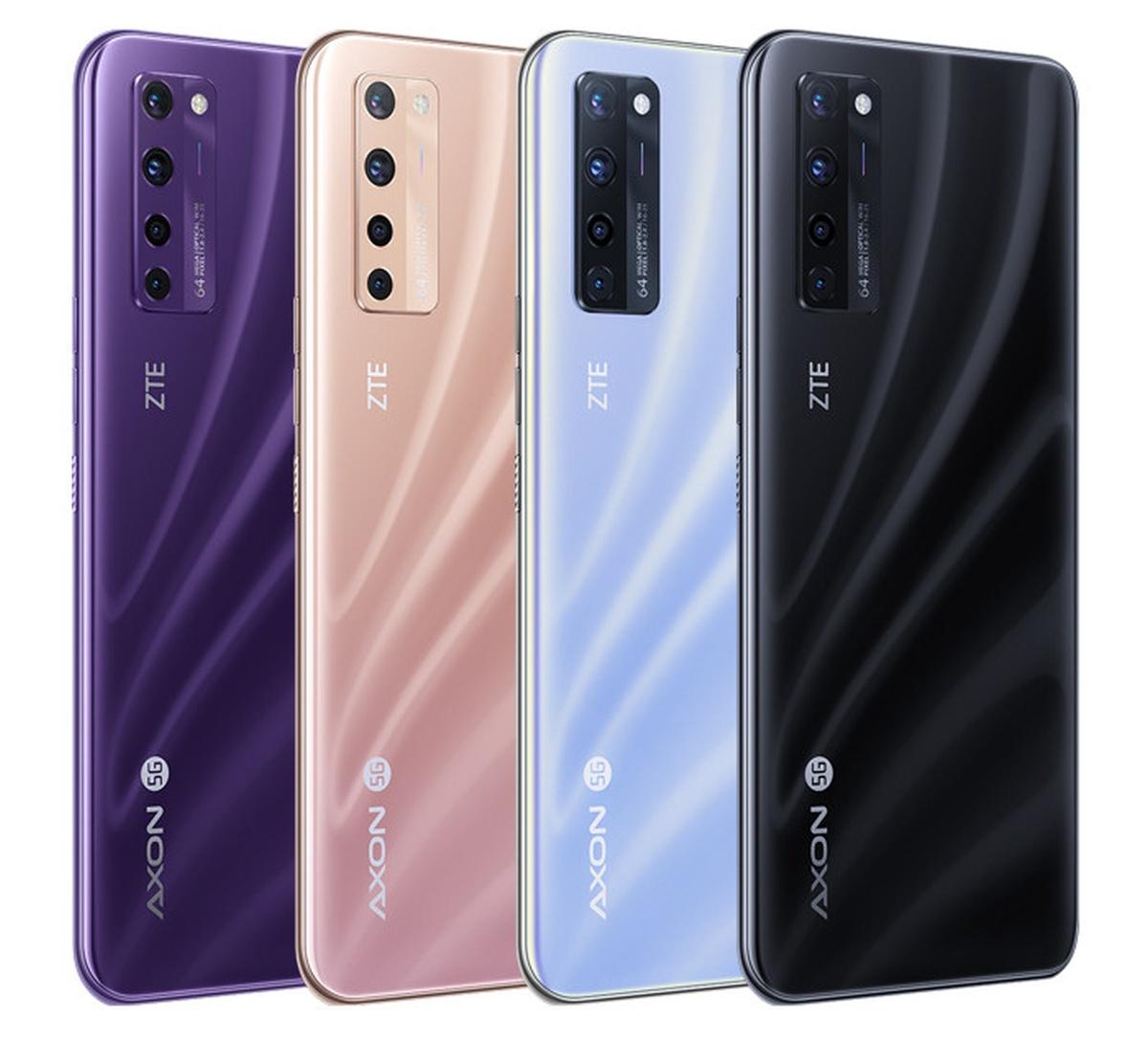 ZTE Axon 20 5G colors